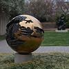 Sphere No. 6 by Arnaldo Pomodoro