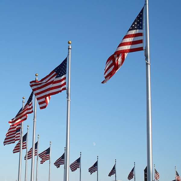 Flag Moonrise