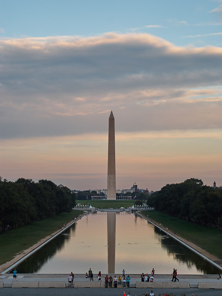 Washington Memorial Reflection