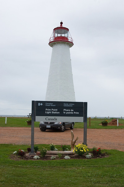 The lighthouse appears to be in operation, given the Coast Guard sign on the property. It is staffed by volunteers who offer a tour. A $2 donation is encouraged. On climbing the three levels (more a ladder than a stair), one encounters displays and artifacts from the early days of lighthouse operation, including the light-keeper's sleeping quarters (a narrow bed, night stand and chamber pot).
