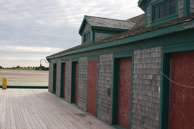 Buildings on the wharf.