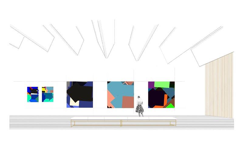 Room 01 / Exhibition Big Size Vector Art