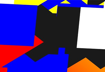 Square Vector Wall 02