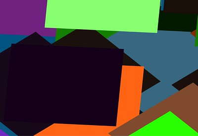 Square Vector Wall 01