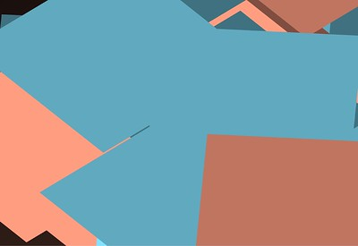Square Vector Wall 04