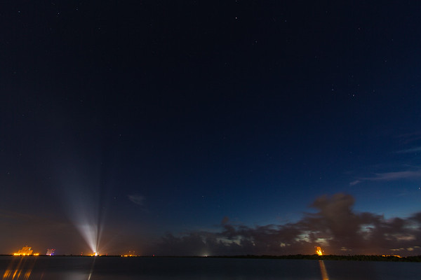 AtlasV MUOS 8 mins before liftoff