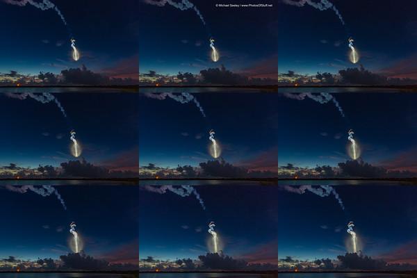 Life of an AtlasV plume