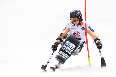 18-3-2017 SKIEN: 2017 WORLD PARA SKIEN WORLD CUP FINALS: PYEONGCHANG Barabara van Bergen. Slalom. Foto: Mathilde Dusol