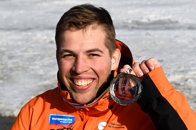 15-3-2017 SKIEN: 2017 WORLD PARA SKIEN WORLD CUP FINALS: PYEONGCHANG 2e plaats Super G. Jeffrey Stuut Foto: Mathilde Dusol