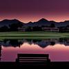 Sunrise at the Hyatt Regency Gainey Ranch Spa