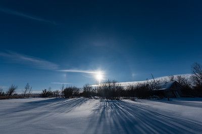 Solar Halo and Sundogs