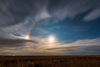 Moondog and Lunar Halo