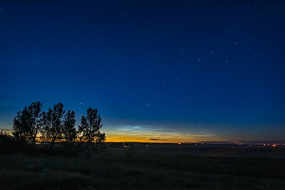 Noctilucent Clouds on June 4, 2019