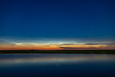 Noctilucent Clouds and Capella