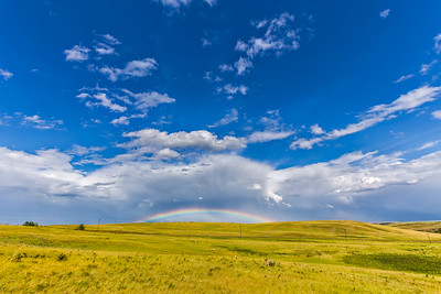 Rainbow at Blackfoot Crossing #1