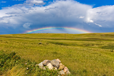 Rainbow at Blackfoot Crossing #2