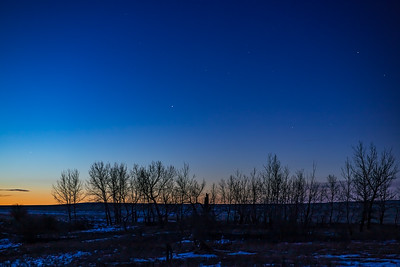 Planet Trio at Dawn (Feb 27, 2020)
