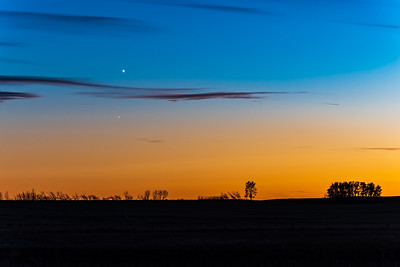 Conjunction of Venus and Antares (Oct 16, 2021)