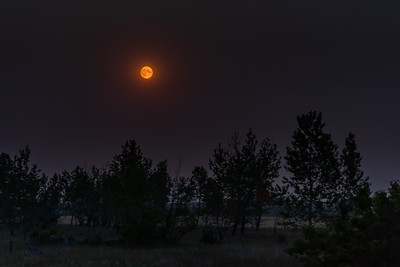 The Smoky Summer Full Moon of July 2021
