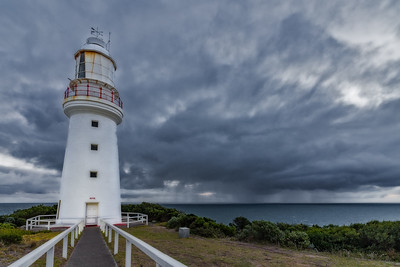 Darkening Sky at Cape Otway Lighthouse
