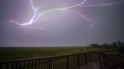 Lightning Bolt in Home Sky