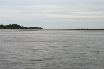 Looking east towards James Bay.