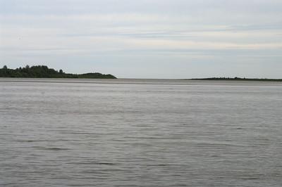 Looking east towards James Bay.