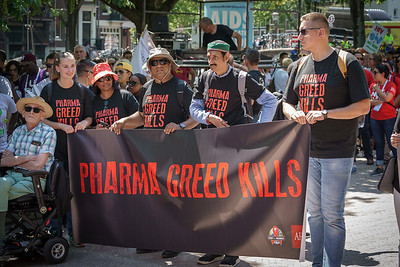 22nd International AIDS Conference (AIDS 2018) Amsterdam, Netherlands.   Copyright: Matthijs Immink/IAS  COMMUNITY MARCH IN AMSTERDAM