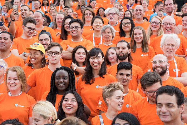 22nd International AIDS Conference (AIDS 2018) Amsterdam, Netherlands   Copyright: Marcus Rose/IAS  Photo shows: Volunteers