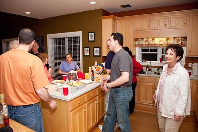 In the kitchen at Jennifer & Allen's