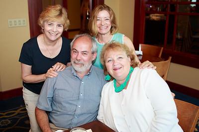 Chuck, Melinda, Patricia, Theresa