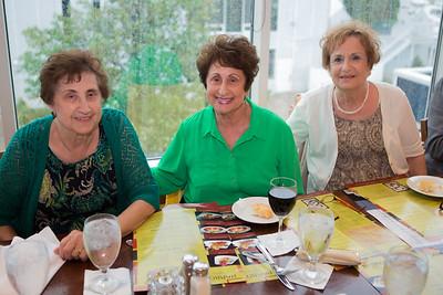 Connie Ragatzki, Josie Fritz, Mary Karam