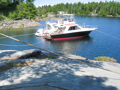 Anchored in about the same spot as 2002,