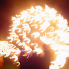 Manchester, the Carcabosse fire show