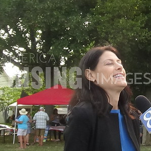 Dana Nessel At Progressives In The Park In Grand Rapids, MI