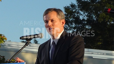 Josh Stein At Hillary Clinton Campaign Rally In Charlotte, NC