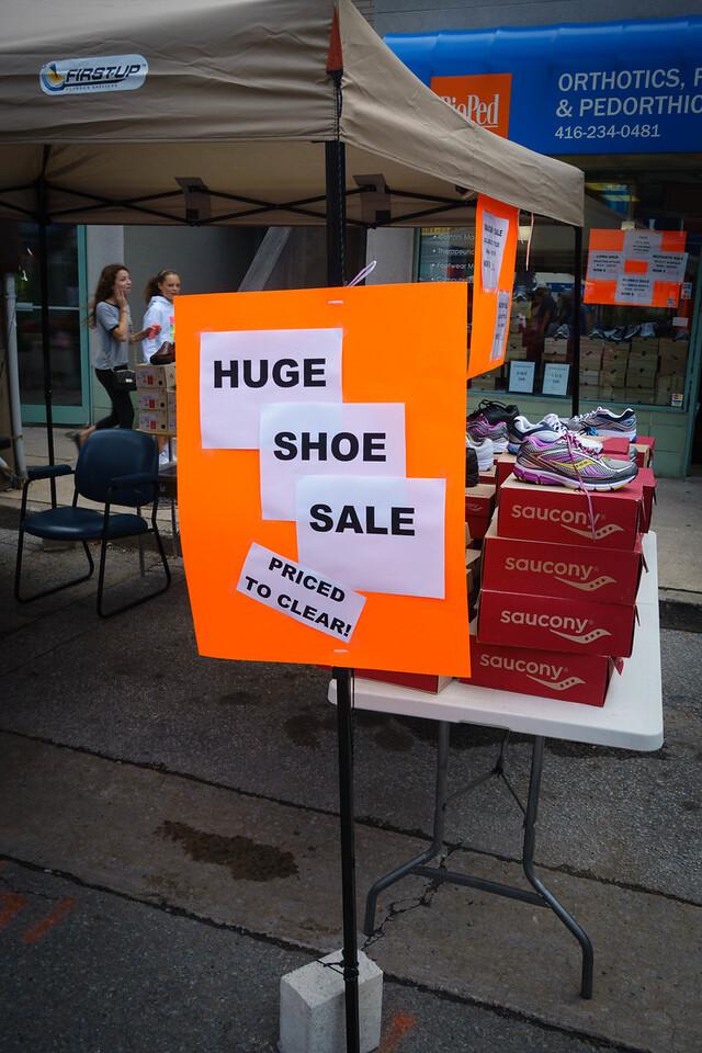 Huge Shoe Sale