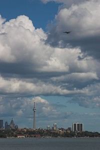 CN Tower fly-by