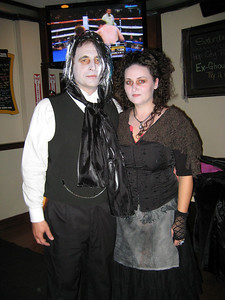 Stefan & Tara, Halloween @ Peppers Pub