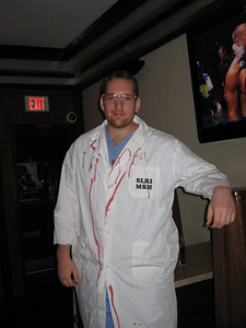 Chris, the Mad Scientist, Halloween @ Peppers Pub