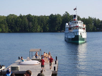 The Wenonah II Arrives