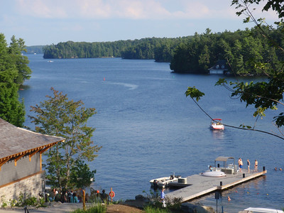 The Dock at the Rosseau Resort and Spa