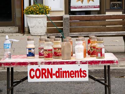 CORN-diments