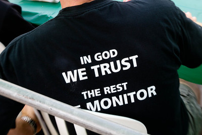 In God We Trust, the Rest We Monitor
