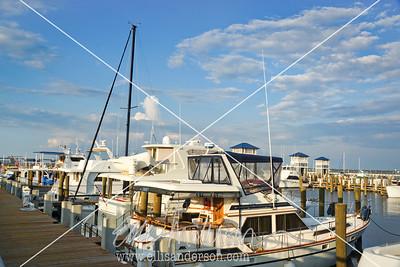 Bay St  Louis Harbor 6796