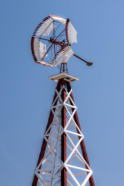 Old Prairie Windmill