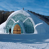 The Aurora Ice Museum at Chena Hot Springs Resort.