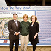 From left to right: MLA Naresh Bhardwaj, Delia Gruninger, Councillor Jane Batty