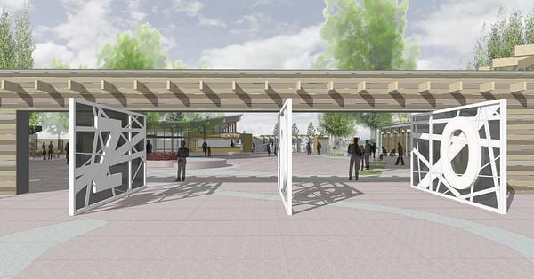 Edmonton Valley Zoo Development Project<br /> <br /> Rendering by Dialog and Studio Hansen Roberts