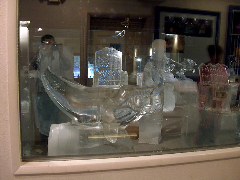 Credit: FCVB/Nicholas Jacobs<br /> <br /> A display of ice sculptures at the Fairbanks Ice Museum.